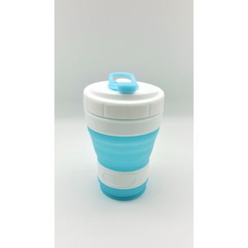 Collapsible Cup Blue 300ml
